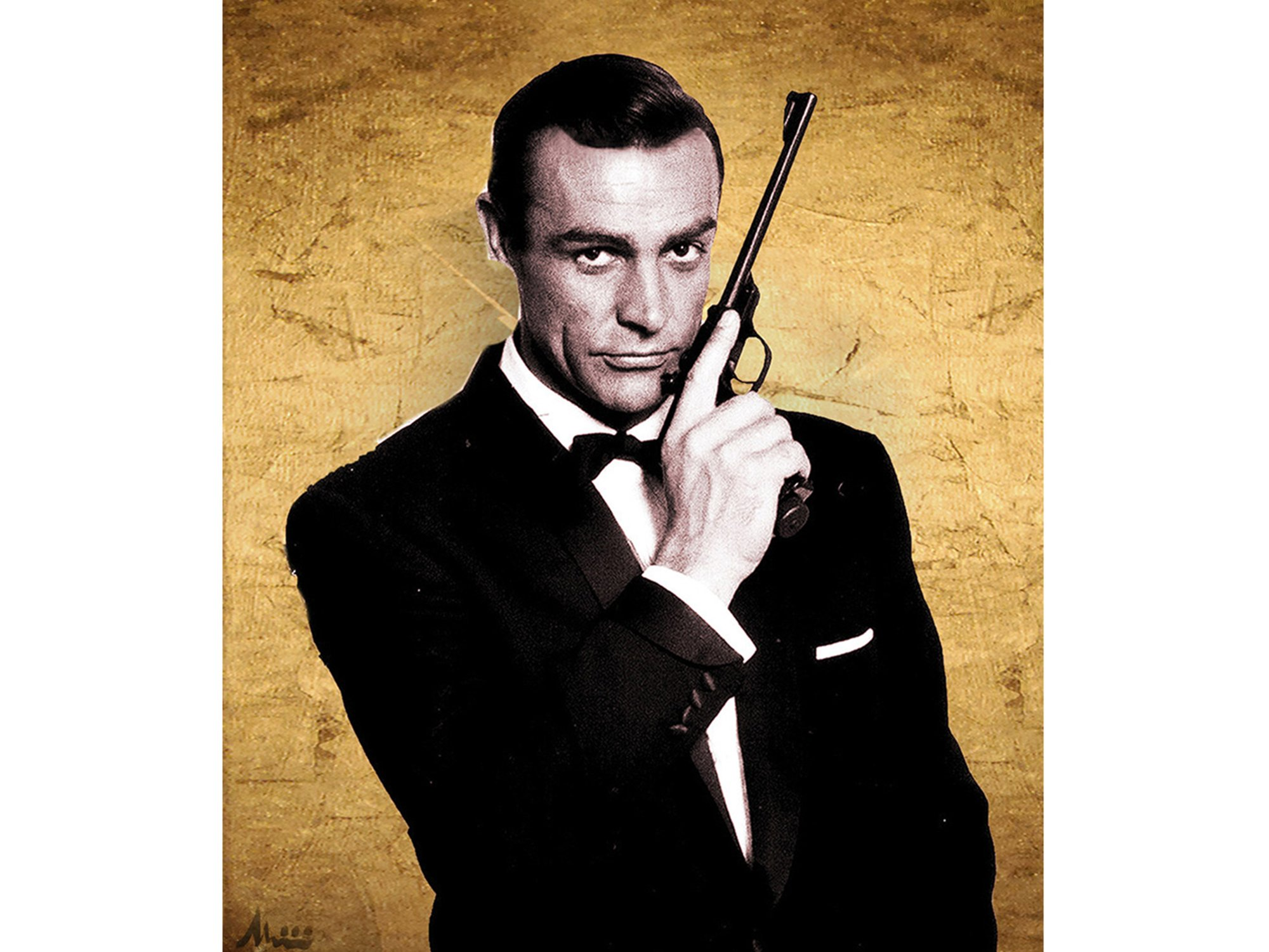 Sean Connery As James Bond Albin Albinini Another Dandy
